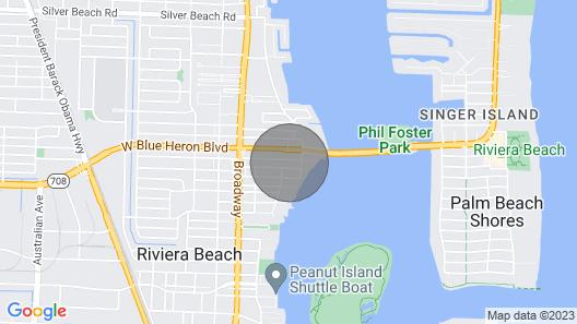 ?julias Gem 3 min Drive to the Beach? ?? Map
