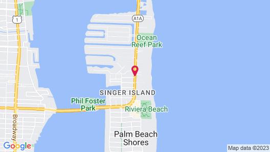 Marriott's Oceana Palms Map