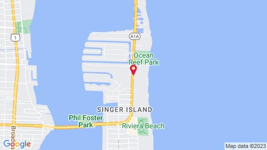 Hilton Singer Island Oceanfront/Palm Beaches Resort Map