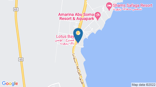 Amarina Abu Soma Resort & Aquapark - All inclusive Map