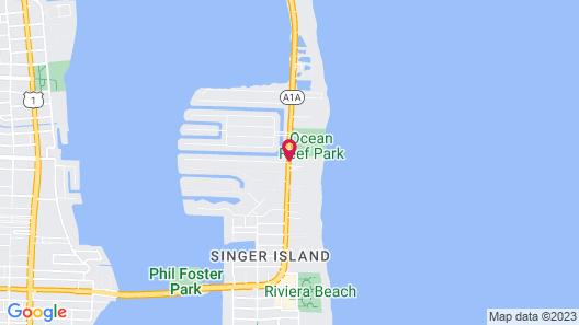Palm Beach Marriott Singer Island Beach Resort & Spa Map