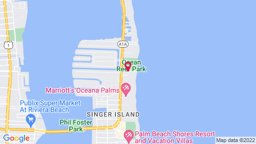 Palm Beach Singer Island Beach Resort Condos Map