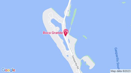 Boca Grande Hotel Map