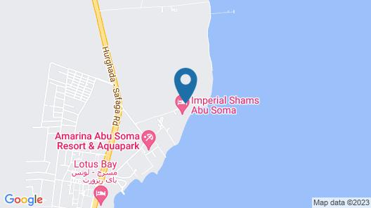 Shams Prestige Abu Soma Resort Map