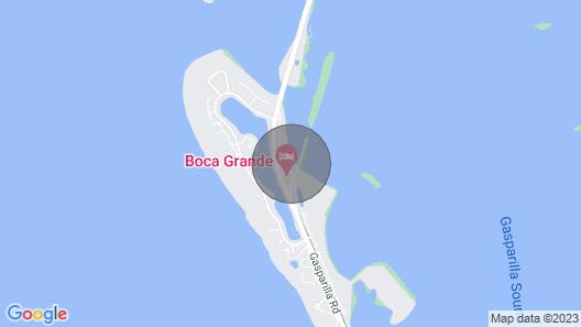 Boca Grande Waterfront One Bedroom Condo On Gasparilla Island; Boca Grande Club Map