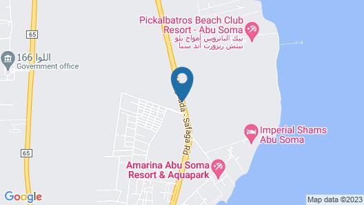 l'Oasis de Safaga Apartments Map