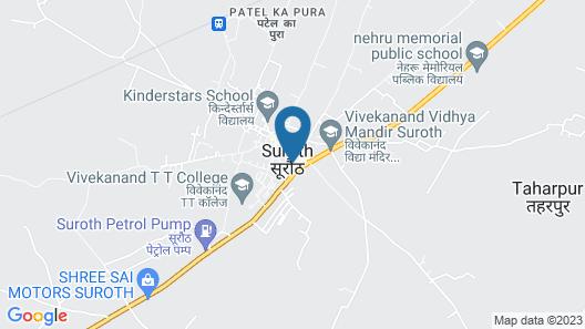 Suroth Mahal a Jaipur Riyasat Map