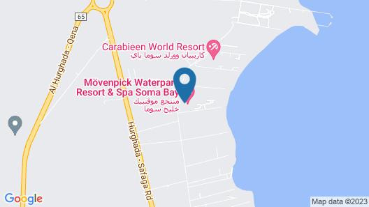 Movenpick Resort Soma Bay Map