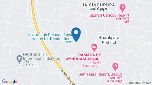 Nazarbagh Palace - Pura Stays Map