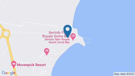 SENTIDO Palm Royale Map