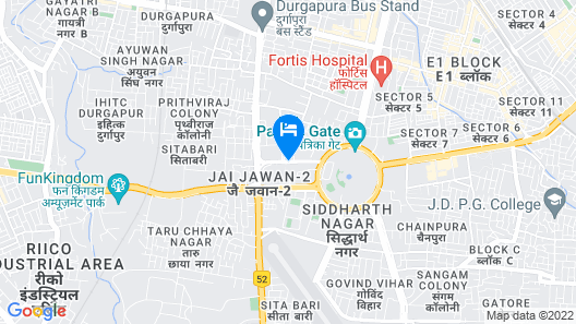 Jaipur Marriott Hotel Map