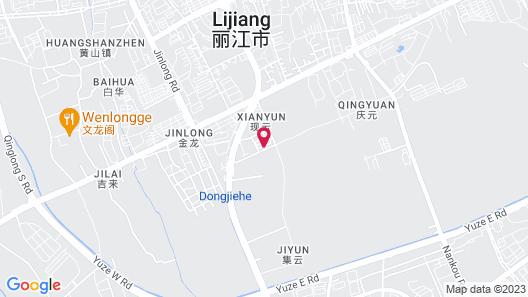Micheng RV Lijiang Camping Map