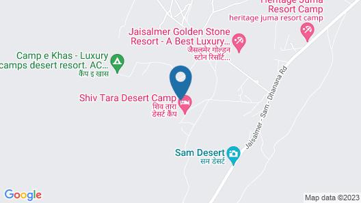 OYO 26228 Royal Camps Map