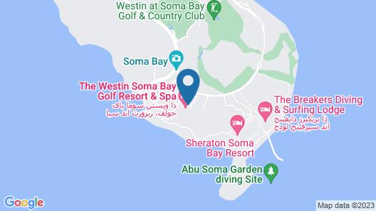 ROBINSON SOMA BAY Map