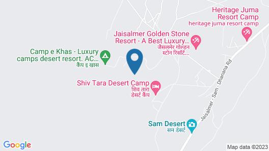 OYO 26134 Dhanak Desert Camp And Resort Map