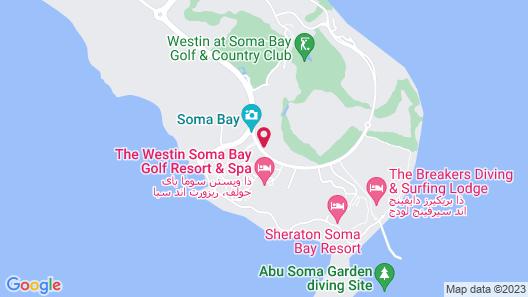 Kempinski Hotel Soma Bay Map