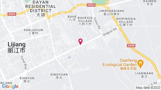 Anyu Dayan Hotel Map