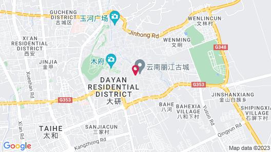 InterContinental Lijiang Ancient Town Resort, an IHG Hotel Map