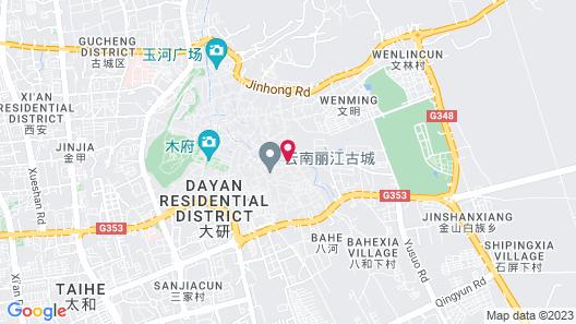 Lijiang Hotel JunPoXuan Map