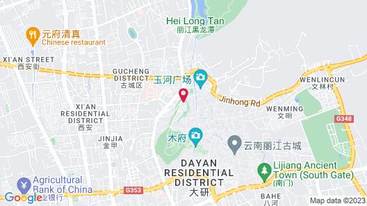 Amandayan Hotel Map