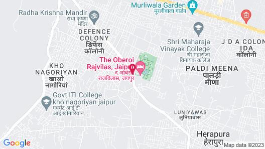The Oberoi Rajvilas Map