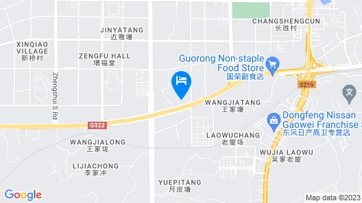 Holiday Inn Express Hengyang High-Tech Zone Map