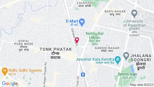 Hotel Jaipur Palace Map