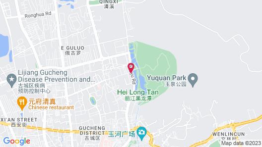 Floral Hotel · Lijiang Zangyuan Map