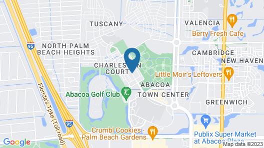 Courtyard Palm Beach Jupiter Map