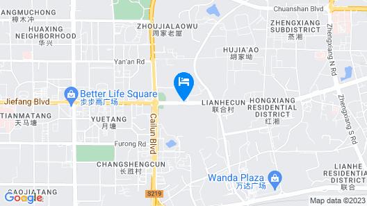 7 Days INN Hengyang Jiefang West Road Nanhua Unive Map