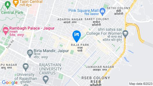 Ramada by Wyndham Jaipur Map