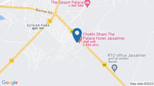 Chokhi Dhani The Palace Hotel Map