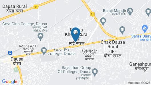 Madhuvan Hotel Map