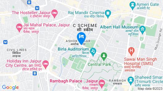 Park Prime Jaipur Map