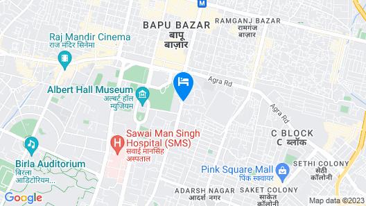 SPOT ON 62734 Hotel Sarfaraz Palace Map