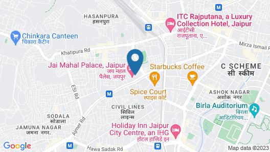Jai Mahal Palace Map