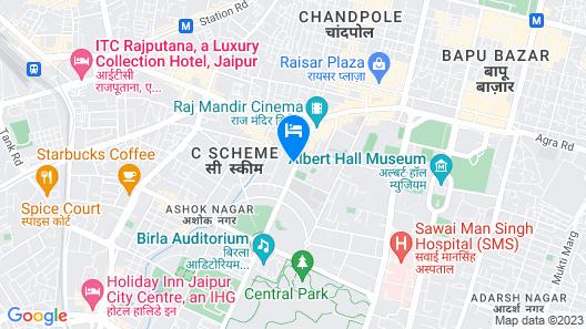 Polo Inn & Suites Map