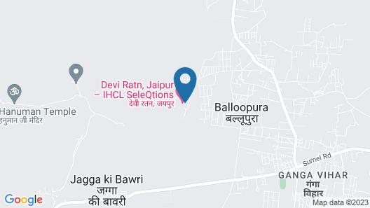 Devi Ratn, Jaipur -IHCL SeleQtions Map