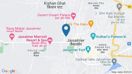 Hotel Antra Inn Jaisalmer Map