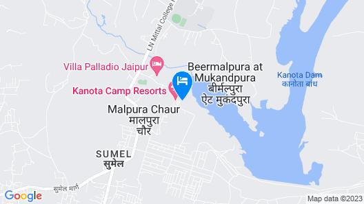 Shivoham Yoga retreats Map