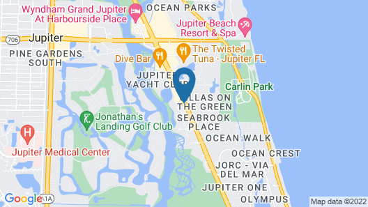 Best Western Intracoastal Inn Map