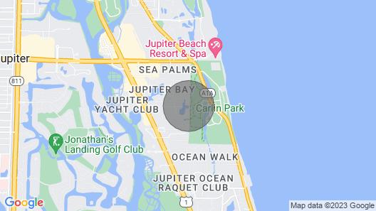 : Sandy Feet Retreat : Walk to Beach! : Map