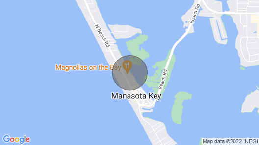 Manasota Key Studio! Private Beach Access ! Walking Distance to Everything!!! Map