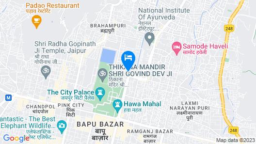 FabHotel Jasoda Heritage Map