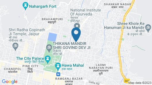 Rawla Mrignayani Palace Map