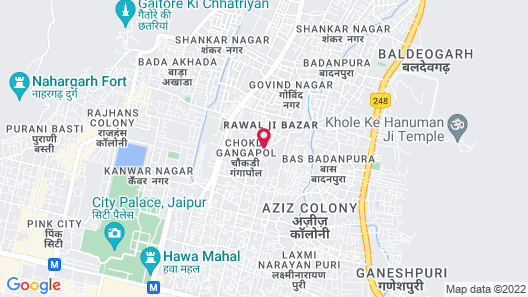 Samode Haveli Map