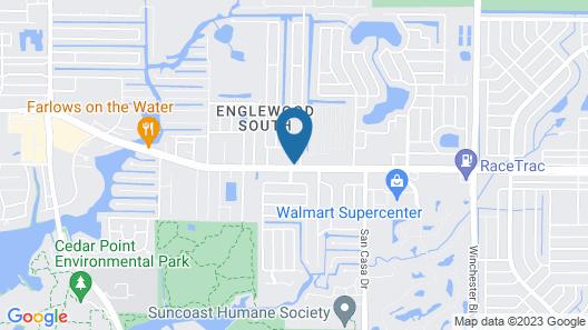 Motel 6 Englewood, FL Map