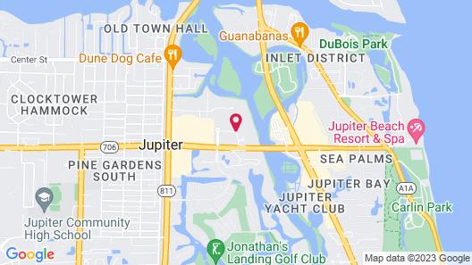 La Quinta Inn by Wyndham Jupiter Map