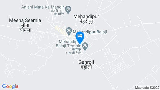 Hotel The Vedanta Sara Map