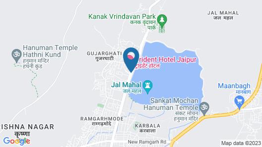 Trident, Jaipur Map
